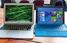 Microsoft tự tin khoe khách hàng yêu thích Surface hơn cả MacBook