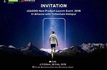Leagoo S9/S9 Pro ra mắt ở MWC 2018 với sao bóng đá Harry Kane