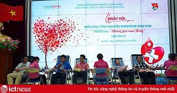 Góp phần khắc phục tình trạng thiếu máu điều trị giữa dịch nCoV, MobiFone phát động hiến máu tình nguyện