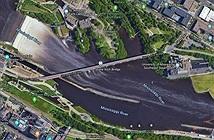 Một tài xế lao xuống sông chỉ vì quá tin Google Maps