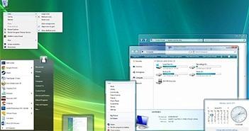 Windows Vista tuy tệ hại nhất nhưng công nhận là hệ điều hành đẹp nhất của Microsoft