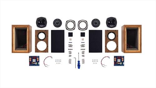 Q7 Mini-Monitor - Loa tự lắp ráp độc đáo của Falcon Acoustics giá 995 bảng