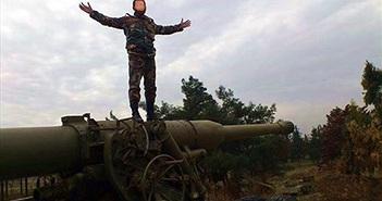 """Khiếp sợ """"vua pháo"""" giấu mặt của Quân đội Syria"""
