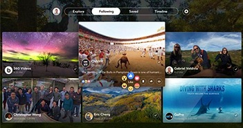 Facebook trình làng ứng dụng thực tế ảo đầu tiên