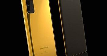 Choáng với chiếc Galaxy S20 mạ vàng 24K siêu đắt