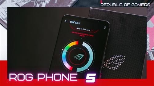Trên tay ASUS ROG Phone 5 tại Việt Nam: nhiều thay đổi