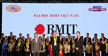 RMIT Việt Nam nhận giải Rồng Vàng lần thứ 14 nhờ đóng góp vào lĩnh vực giáo dục