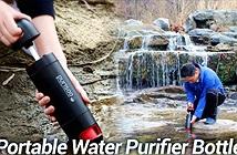 Purisoo: Bình lọc nước di động giúp bạn uống nước sạch ở bất kỳ nơi đâu