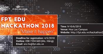 FPT Edu mở cuộc thi lập trình Hackathon cho sinh viên công nghệ