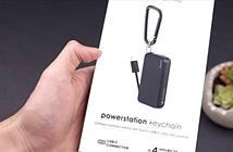 Móc khóa kiêm sạc dự phòng USB Type-C siêu nhỏ gọn