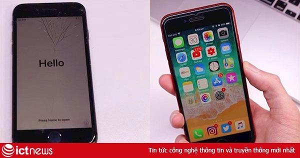 Với 200 USD, bạn có thể 'hô biến' iPhone 8 đồng nát thành như mới