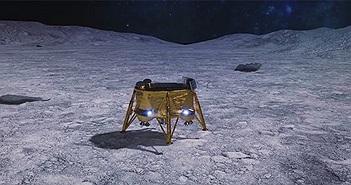 Nghẹt thở chờ đợi tàu tư nhân đầu tiên của Trái đất đáp xuống Mặt trăng