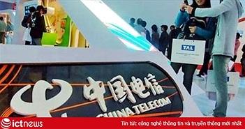 Mỹ muốn tước giấy phép của hãng viễn thông sừng sỏ Trung Quốc