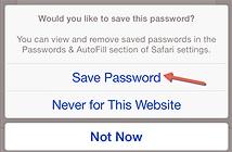 Xem mật khẩu đã lưu trong Safari trên iPhone, iPad