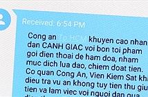Công an TP.HCM gửi tin nhắn cảnh báo lừa đảo