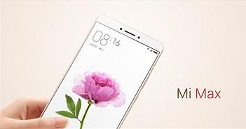 """Xiaomi tung màn hình siêu to, pin """"khủng"""" Mi Max"""