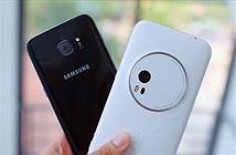 Asus Zenfone Zoom đọ camera giấu mặt với Galaxy S7 edge