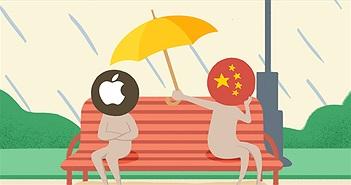 """""""Chuyện tình"""" 8 năm ngọt nhạt không như mơ của Apple tại Trung Quốc"""