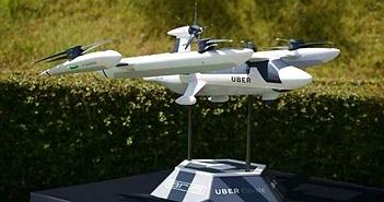 Uber giới thiệu nguyên mẫu taxi bay, trông giống hệt một chiếc drone khổng lồ