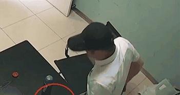 Tên trộm mưu mẹo, to gan trộm điện thoại ngay trong đồn cảnh sát