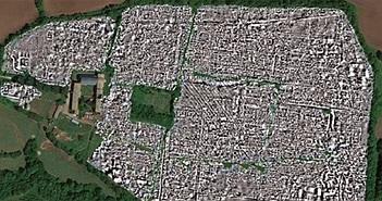 Sử dụng radar quét xuyên đất, phát hiện một thành phố cổ thời La Mã