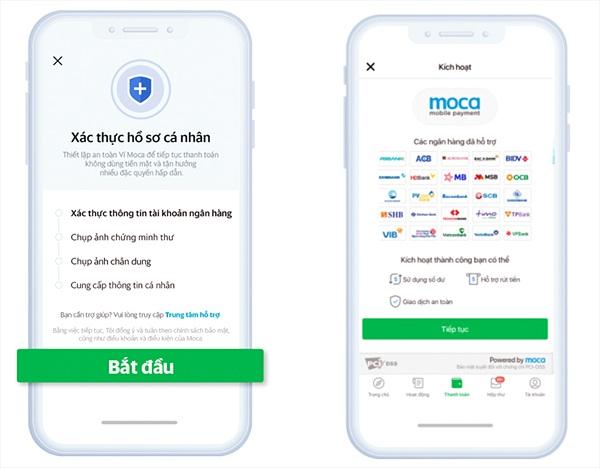 Ví điện tử Moca khuyến nghị người dùng xác thực thông tin trước ngày 07/07/2020