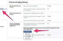 Cách xem hình bị ẩn của bạn bè trên Facebook