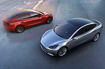Những hình ảnh đầu tiên của Tesla Model 3 phiên bản thương mại