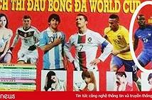 Ảnh chế: Dân mạng lo Pháp thua Bỉ do... Pogba có mặt trong tờ lịch World Cup in chung với Ronaldo, Messi