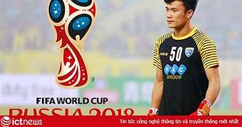 """Google: Người Việt """"tò mò"""" chuyện Bùi Tiến Dũng sắp trao giải cầu thủ hay nhất trận Anh vs Croatia World Cup 2018"""