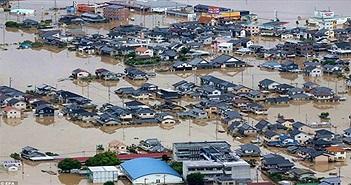 """Mưa lũ """"lớn chưa từng thấy"""" khiến ít nhất 85 người chết ở Nhật"""