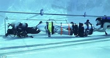 Tàu ngầm mini của Elon Musk không được dùng để giải cứu đội bóng nhí Thái Lan