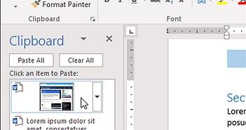 Bí quyết sao chép và dán nội dung cực nhanh trong Microsoft Word