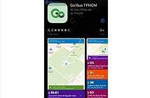 Ra mắt ứng dụng cung cấp thông tin xe buýt trên di động Go!Bus