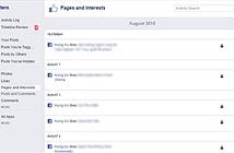 Cách hạn chế tự động like phiền toái trên Facebook