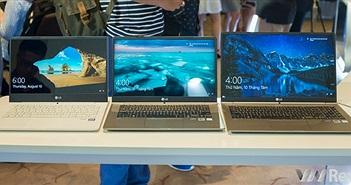 LG chính thức gia nhập thị trường laptop Việt nam với dòng LG gram mỏng nhẹ