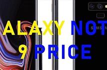 HOT: Đã có giá chính thức Galaxy Note 9 – Ngang iPhone X