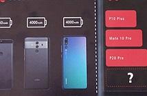 Huawei Mate 20 Pro trang bị thỏi pin khủng hơn Galaxy Note 9