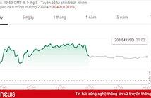 Giá cổ phiếu của Apple tăng kỉ lục trong thời gian Samsung ra mắt Note 9