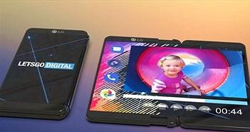 """LG """"chơi lớn"""" với smartphone gập lại kèm bút cảm ứng"""