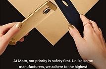 Motorola lại bị hớ khi đá đểu Samsung