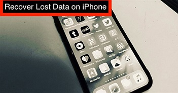 Cách khôi phục dữ liệu bị mất sau khi cập nhật lên iOS 12