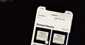 Mách bạn cách tạo iCloud Photo Album với iOS 12