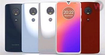 Những hình ảnh đầu tiên về Motorola Moto G7: thiết kế tròn trịa, màn hình giọt nước