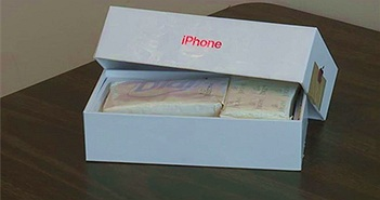 Mua iPhone qua mạng, nhận về 2 cục xà phòng