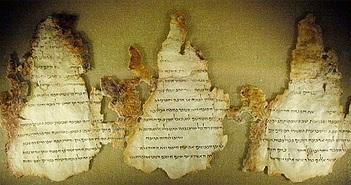 """Cổ văn biển Chết tiết lộ """"phép lạ"""" làm những vật chất 2.000 năm không tan rã"""