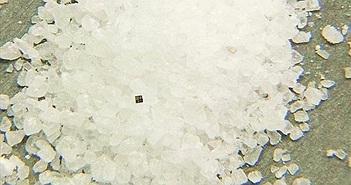 IBM khoe máy tính nhỏ hơn cả hạt muối