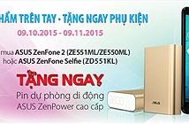 Tặng ngay pin sạc dự phòng ZenPower khi mua ZenFone 2 & ZenFone Selfie