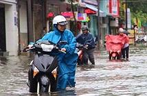 Áp thấp vào Hà Tĩnh-Quảng Bình, gây mưa lớn