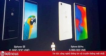 """CEO Bkav Nguyễn Tử Quảng khẳng định Bphone là điện thoại """"chất"""", giá bán từ 6,99 đến 9,99 triệu đồng cho Bphone 3 và 3 Pro"""